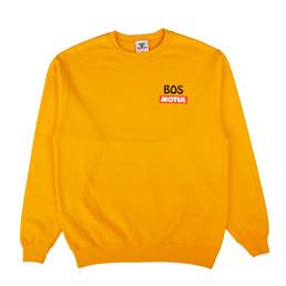 BOS Charles Crewneck Sweatshirt Gold