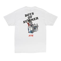 Boys Of Summer Ave Pocket Tee - White
