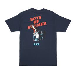 Boys Of Summer Ave Pocket Tee - Navy