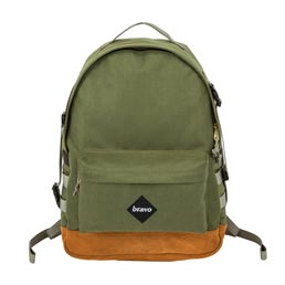 Bravo Oscar Strap Backpack - Army/Khaki
