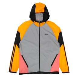 Adidas x Palace Hooded Jacket Grey