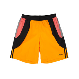 Adidas x Palace Short Grey/ Lucky Orange