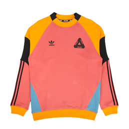 Adidas x Palace Crewneck Pink/Orange/Black