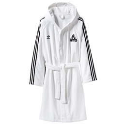 Adidas x Palace Bathrobe White/ Black