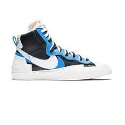 Nike Blazer Mid / Sacai - Black/White Uni Blue