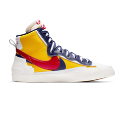 Nike Blazer Mid / Sacai - Varisty Maize Red Navy