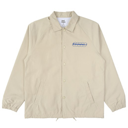 Book Works Coaches Jacket - Beige