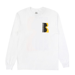 Book Works Profile LS T-Shirt - White