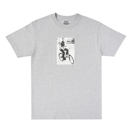 Book Works Dexter S/S T-Shirt - Grey