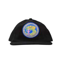 Book Works Patch Hat - Black