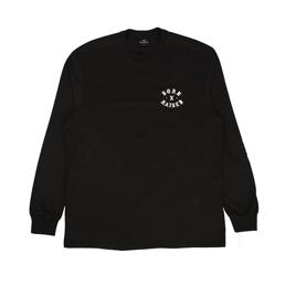 Born x Raised Rocker L/S T-Shirt Black