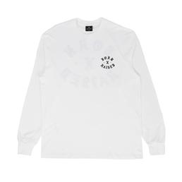 Born x Raised Rocker L/S T-Shirt White
