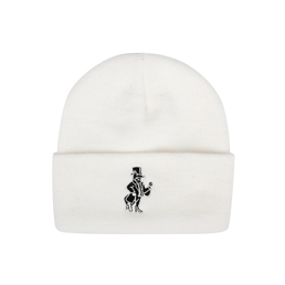 Born x Raised Snooty Beanie White