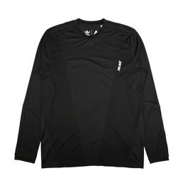 Adidas x Palace Long Sleeve T-Shirt Black/White