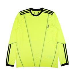 Adidas x Palace Long Sleeve T-Shirt Yellow/ Black