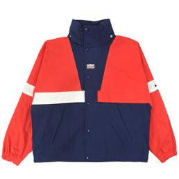 Nike NRG Swoosh Stripe Jacket - Uni Red/Midnight