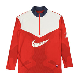 Nike NRG Na TOP LS HZ (GYAKUSOU) - Sport Red