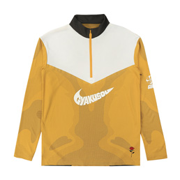 Nike NRG Na TOP LS HZ (GYAKUSOU) - Min Yellow