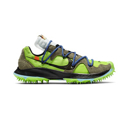 Nike W Zoom Terra Kiger 5 x Off White- Electric Gr