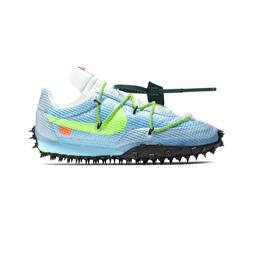 Nike W' Waffle Racer x Off-White - Vivid Sky/Elect