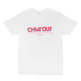 Chill Out Jams Surf Waxx T-Shirt Pink