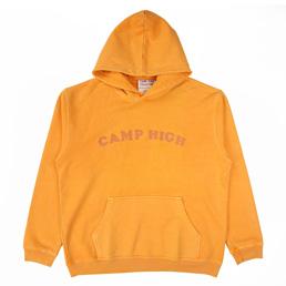 Camp High Chain Stitch Sweat Yellow