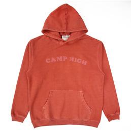 Camp High Chain Stitch Sweat Rust