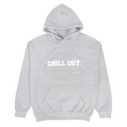 Chill Out Hoodie Grey