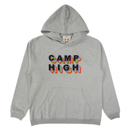 Camp High Rainbow Stairs Sweat Heather Grey