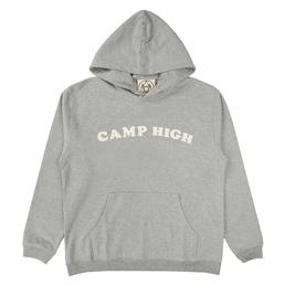 Camp High Counselor Hoody Heather Grey