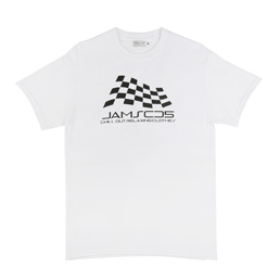 Chill Out Jams CD5 Racing T-Shirt White