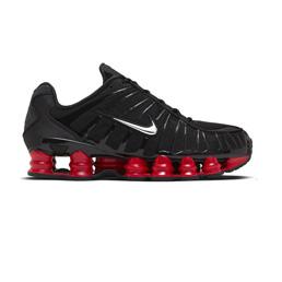 Nike Shox TL/Skepta - Black/Met Silver-Uni Red