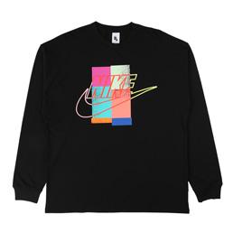 NikeLab x Atmos NRG CU LS T-Shirt - Black