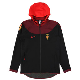 Nike x CLOT NRG GE Hoodie - Black/Uni Red/Night