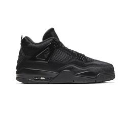 W' Air Jordan 4 x Olivia Kim - Black/Black-Black
