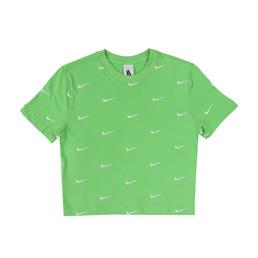 W' Nike NRG Swoosh Logo T-Shirt - Green Nebula