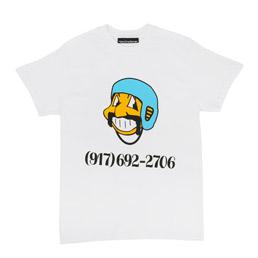 Call Me 917 Bowl Troll T-Shirt White