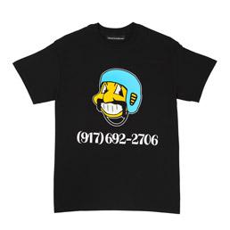 Call Me 917 Bowl Troll T-Shirt Black