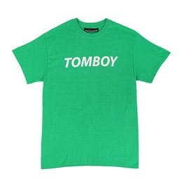 Call Me 917 Tomboy T-Shirt Green
