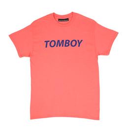 Call Me 917 Tomboy T-Shirt Coral