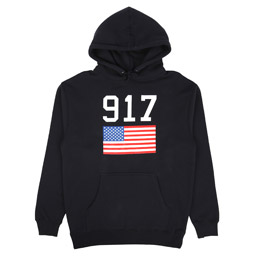 Call Me 917 USA Hooded Sweatshirt Navy