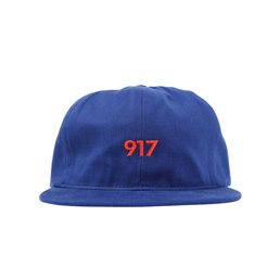 Call Me 917 Area Code Hat Blue