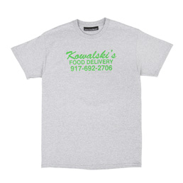Call Me 917 Food Delivery T-Shirt Grey
