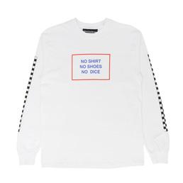 Call Me 917 All American Burger L/S T-Shirt White