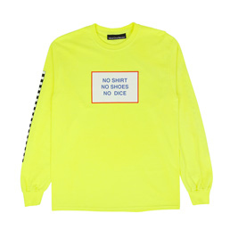 Call Me 917 All American Burger L/S T-Shirt Yellow