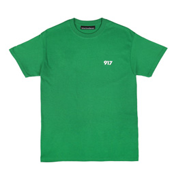 Call Me 917 Area Code T-Shirt Green