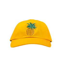 Call Me 917 Pineapple Hat Yellow