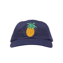 Call Me 917 Pineapple Hat Navy