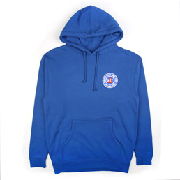 Call Me 917 Club Pullover Hood Blue