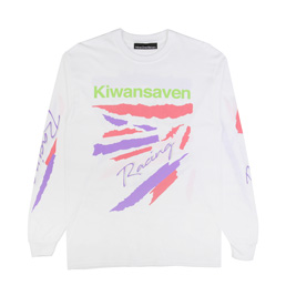 Call Me 917 Kiwanseven L/S T-Shirt White